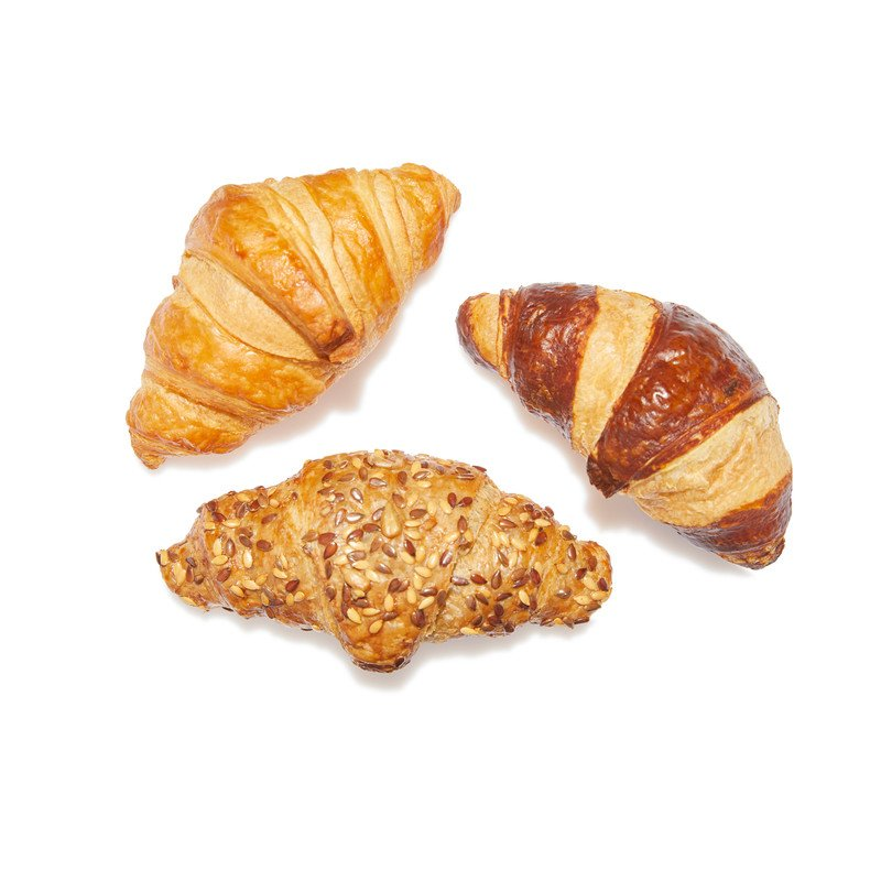 Mix Mini Croissants (Plain, Multigrain & Pretzel)